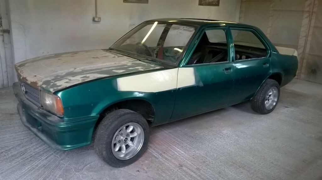 Opel Ascona RWD winter project Manta Superlight wheels | in Armagh, County  Armagh | Gumtree