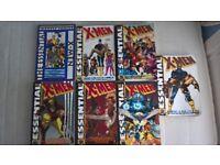 X-men comics (Essential Volumes 2-8)(contains Uncanny X-men #120-243)