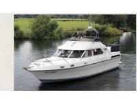 Fairline turbo 36 cabin cruiser boat BMW powered