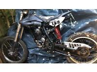 125cc big wheel pitbike/ crosser