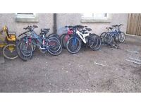 CLEARANCE SALE MOUNTAIN BIKES LADIES /GENTS /UNISEX SEE ALL PIC all are ready to go