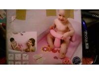 girls pink bath mat