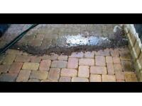 Professional driveway and patio cleaning