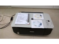 REDUCED - Canon Pixma MP190 inkjet printer and scanner and copier in one