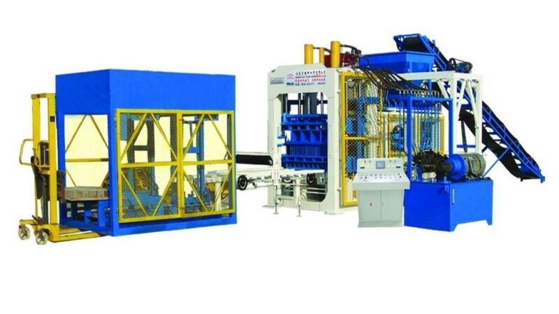 New Automatic Concrete Block Machine