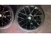 "Alloy wheels 19"" 5x112 vw,audi,seat"