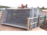 Heras Fencing Panels and Fittings