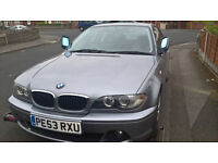 bmw 318ci coupe 2004 grey breaking all parts