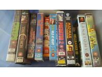 Collection of rare and hard to find vhs horror
