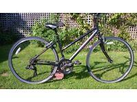 Ladies Dawes aluminium hybrid bike good condition 700C wheels cleaned serviced 3 month warranty