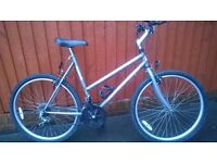 Excel Millennium Ladies Mountain Bike..Good Budget Bike for the taller lady ..£50.00.. Great Choice