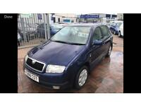 2001 SKODA FABIA 1.4 JUST HAD NEW CLUTCH FITTED AND NEW MOT READY TO GO TODAY...