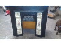2 cast iron fireplaces £250 for the lot