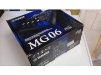 Yamaha Mixer MG06, Brand New