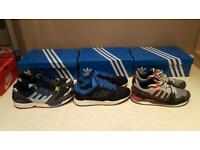 3 pairs mens trainers( NEW worn once)