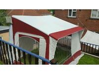 Motorhome freestanding awning and annexe
