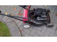 petrol lawnmower briggs and stratton