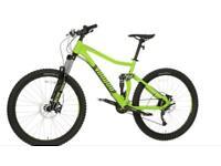 Voodoo minustor mountain bike down hill 2018 model full suspension