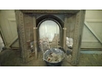 Very Large fireplace, Needs refurbing! Good project.