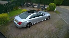 Mercedes S Class 320d **S63 AMG REPLICA**22s**PANO ROOF**MUCH MORE
