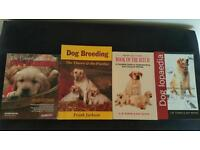 Dog books, whelping, puppies and care