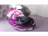 Motorcycle Helmet, size Medium, As new condition