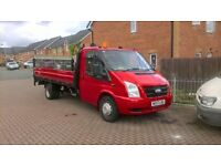 for sale no vat lovely long drop side with half ton tail lift