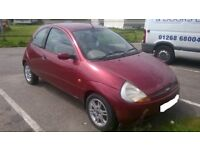 52 reg top spec ford ka 1.3+mot till feb 2019+cheap tax+full leathers DRIVEAWAY OR DELIVERY