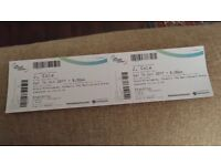 J Cole - 4 your eyez only Tour, 2 standing tickets to see in Birmingham