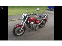 Housing GV 250 motorbike