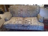Two seater sofa - free to collect