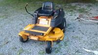 Cub Cadet ZERO Turn 50 inch riding lawnmower