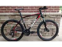 2 x Giant ATX 27.5 2 Hard tail Mountain Bikes and bike rack for sale - Mountain Bike
