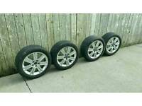 Genuine Audi A4 Alloys/Tyres 5x112