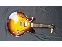 Epiphone Dot Deluxe Flame Maple Top Limited Edition