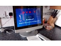 Wharfedale 15 inch TV HD ready Comes with remote control, Freeview HDMI, SCART, VGA D-SubL15T11W
