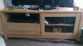 Heart of House Elford TV Unit - oak effect