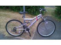 Full suspension Mountain bike in v.g.c