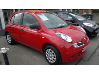 NISSAN NICRA 1.3 2009 ONLY 50,000 MILES