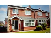 3 bed semi for rent in portadown