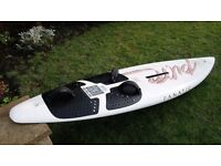 Fanatic 265 Pure Gecko windsurf board