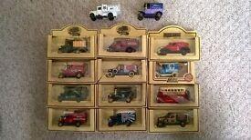 Lledo Days Gone & Promo Models. Collection of 14 Assorted Vans.