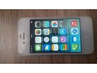 iphone 4, 8gb, white, on vodafone, very good cosmetically, full working order