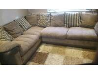 Brown dfs sofa. Good condition and very comfy.