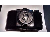 Antique Photax 1940s camera with Boyer telescopic lens