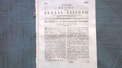 1798 76 Landtag Württemberg