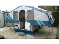 Pennine Fiesta 4 Berth Folding Camper..with full matching awning