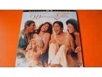 WAITING TO EXHALE WHITNEY HOUSTON LASER DISC WIDESCREEN MOVIE