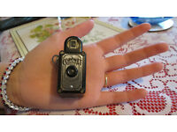 Vintage Black Coronet Midget 16mm Spy Film Camera. Birmingham, England.