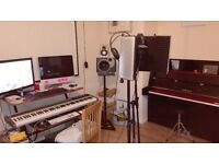 Home Recording studio available